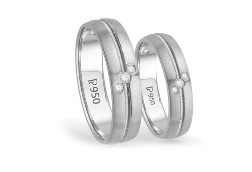White M5380 Platinum Ring Joyalukkas India Pvt Ltd Id 15950704691