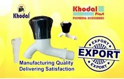 Khodal PVC Water Tap for Bathroom Fitting, Size: 15mm & 20mm