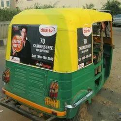 Auto Rickshaw Advertising Service