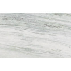 White Makrana Marble Tiles, Thickness: 15-20 mm