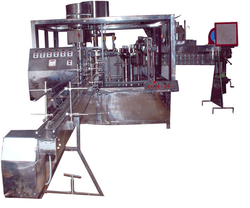 Automatic Water Filling Capping Machine