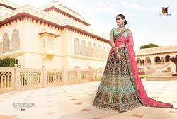 M.n Royal Heritage Series 4801-4809 Stylish Party Wear Velvet Lehenga