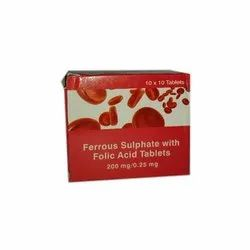 Folic Acid Tablets 200 Mg, 10 X 10 Tablets