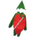 Kids Red Chilly Costume