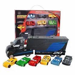 Multicolor Plastic Toys 7 Pieces Set Disney Pixar Cars 3 Lightning McQueen Jackson
