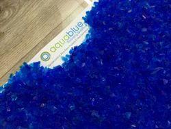 Semi Transparent Blue Silica Gel