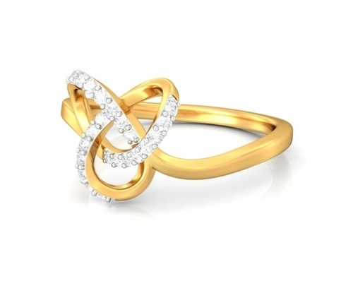 Gold Diamond Ring at Rs 5000 piece Anand Deep Flats
