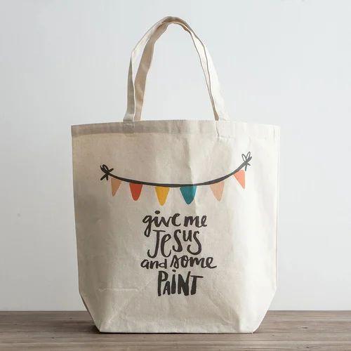 Digital Printed Canvas Ping Bag