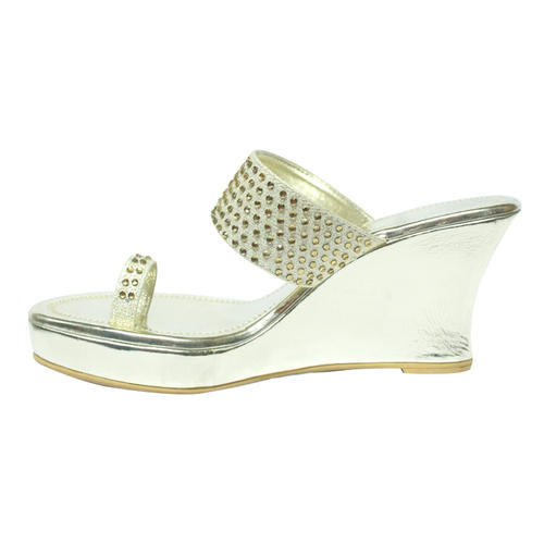 c45e75c32 Silver Women Party Wedges