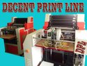 Double Color Bag & Paper Printing Machine