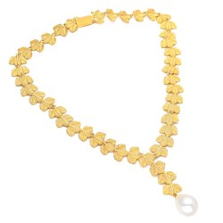 Designer Pearl Drop Necklace