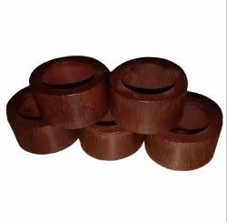 Table Centerpieces Decoration Wood Napkin Rings