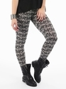 Straight Fit Printed Lycra Legging, Size: Large