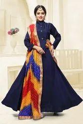 Floor Length Designer Suit