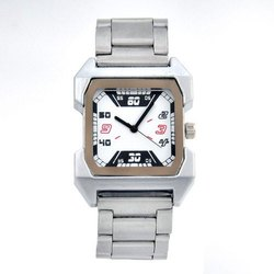 Mens Silver SS Wrist Watch