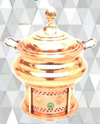 Copper Cheffing Dish