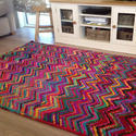 Handloom Chindi Durrie Rag Rugs Floor Runner