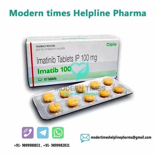 Buy Online Imatinib Tablets 100mg Suppliers Exporters Price In India Russia  China