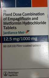 Jardiance Met 12.5mg / 1000mg Tablet