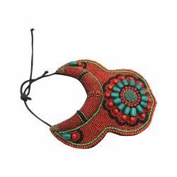 Tibetan Beats Tibetan Necklace, Size: Standard