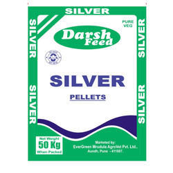 Darsh Feed Pure Veg Silver Pellets