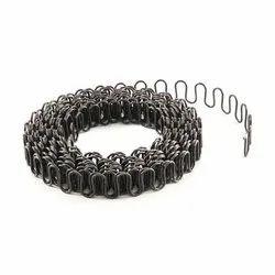 Black MIld Steel ZIg-Zag Spring