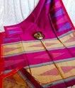 Handloom Thread Work Jamdani Sarees