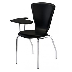 Writing Arm Student Chair with Cushioned Seat