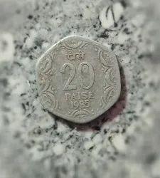 Copper 20 Paise Lotus Coin 1970 Rs 50000 Unit Juwayne Id