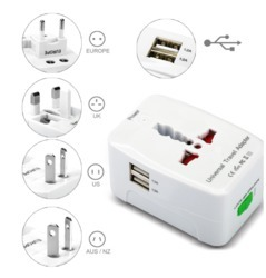 ROQ Universal Travel Adapter With USB