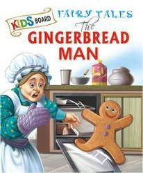 Kids Board Fairy Tales Gingerbread Man