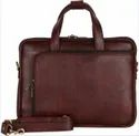 Brown, Black Leather Executive Bags