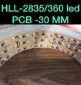 30MM PCB 360LED Flexible Strip
