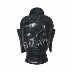 Buddha Face Head Statue