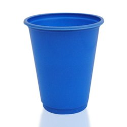 Blue Plastic Drinking Glass, Size: 5 Inches (height)