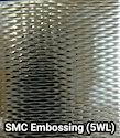 Stainless Steel 5wl Embossed Pattern Designer Sheets