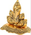 Gold Plated Shankh Ganesha