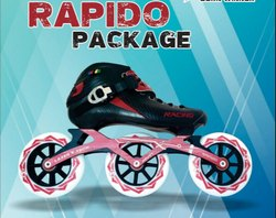 3 x 110 Rapido Skate Package With Lightning 10 Wheel Set
