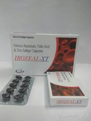 Ferrous Ascorbate, Folic Acid & Zinc Softgel Capsule