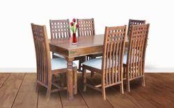 Furniselan Six Chair Modern Dining Table Set