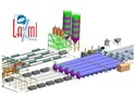 AAC Block Plant 100m3/ Day