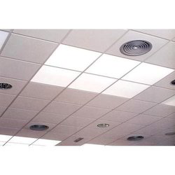 Square Shape PVC Laminated Gypsum Ceiling Tiles