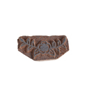 Wooden Flower with Leaf Pattern Henna Printing Blocks