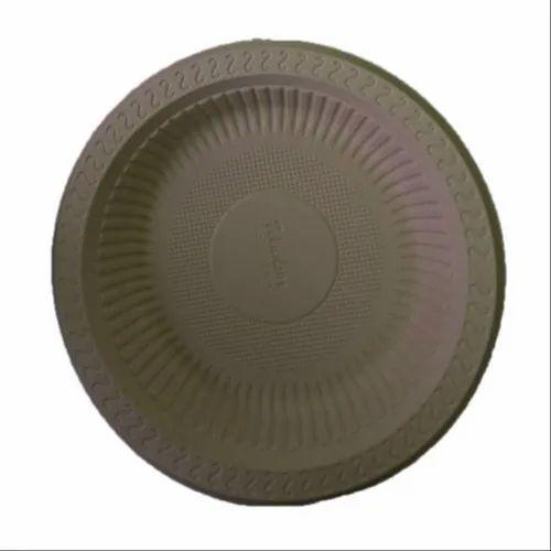 7 Inch Biodegradable Cornstarch Plate