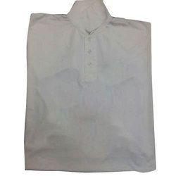 White Cotton Sublimation Printed T Shirt