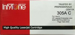 305A C (CE411A) Compatible Color Toner Cartridge For HP Printers