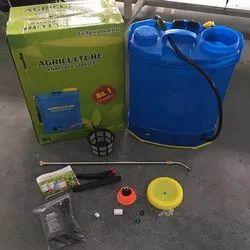 Blue Battery Agriculture Knapsack Sprayer, Capacity: 16 L