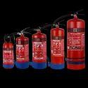 9 Kg Ss Sp Chrome ABC Powder-Based Portable & Wheeled Extinguisher Map 50