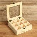 Wooden Tea Bag Box