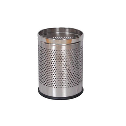 Round Perforated Bin